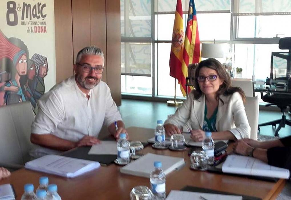 La Generalitat destina 200.000 euros a la reinserción laboral de jóvenes de La Coma