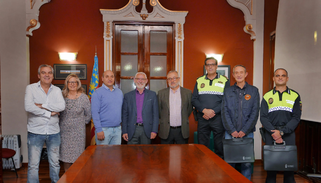 Alboraia reconoce la labor de los cuerpos de seguridad y auxilio locales
