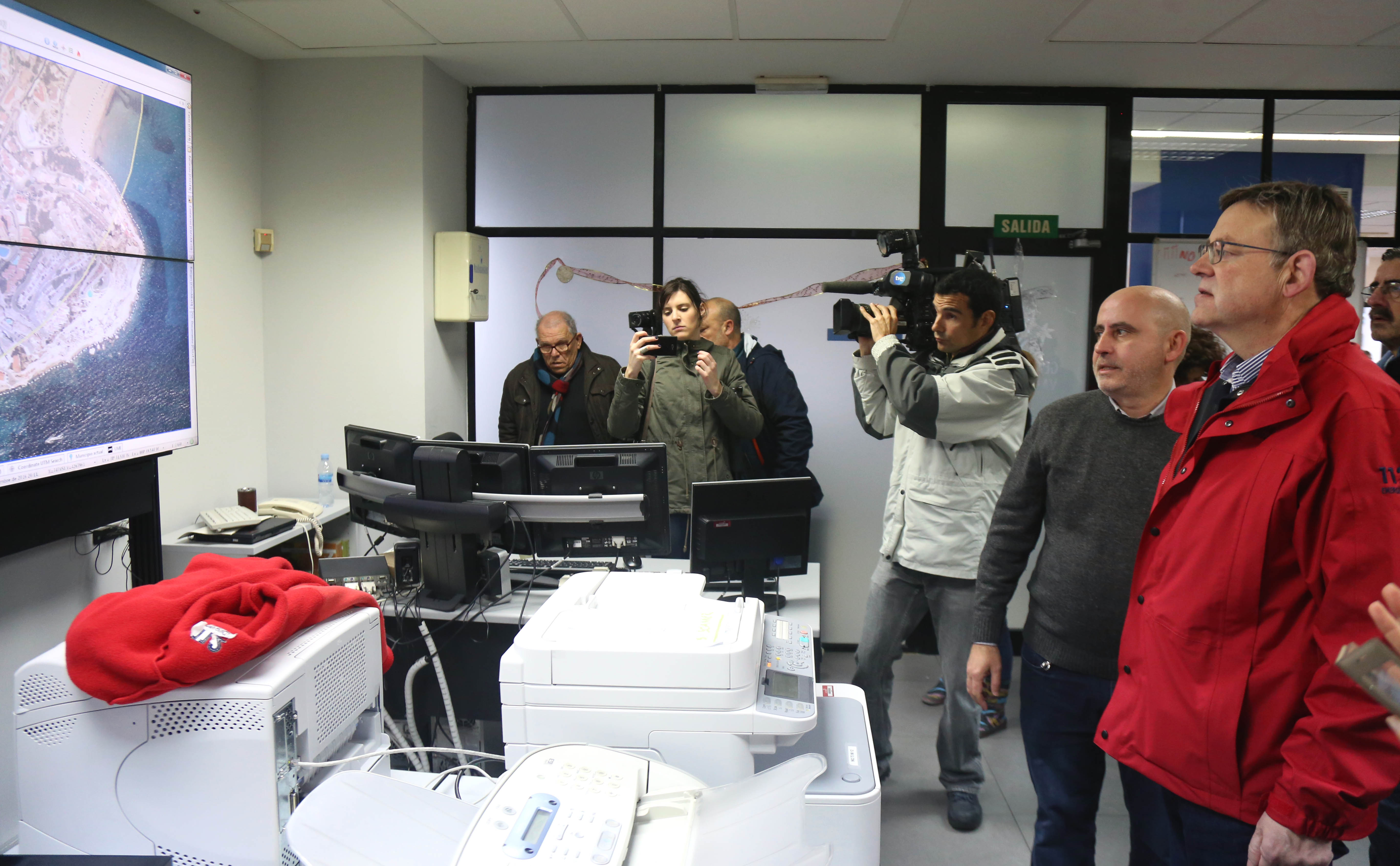 El presidente de la Generalitat anuncia medidas para paliar los daños por las lluvias