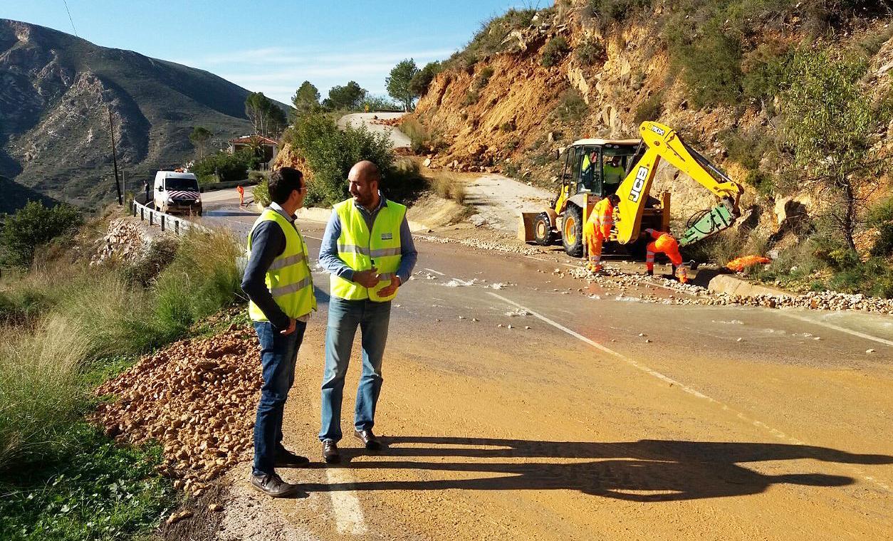 El Consell aprueba medidas para paliar los daños causados por las lluvias