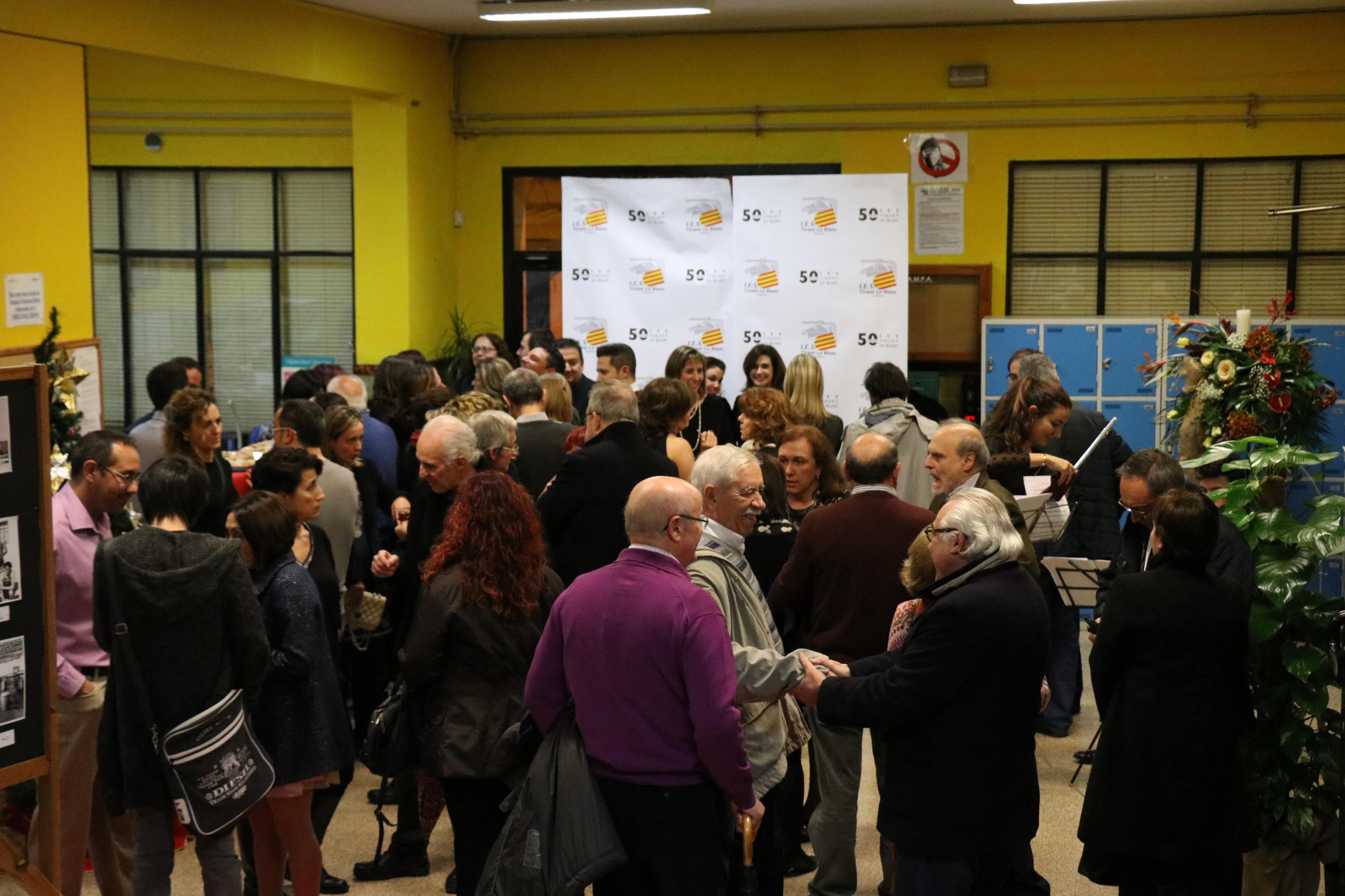 El primer institut de Torrent celebra el seu 50 aniversari
