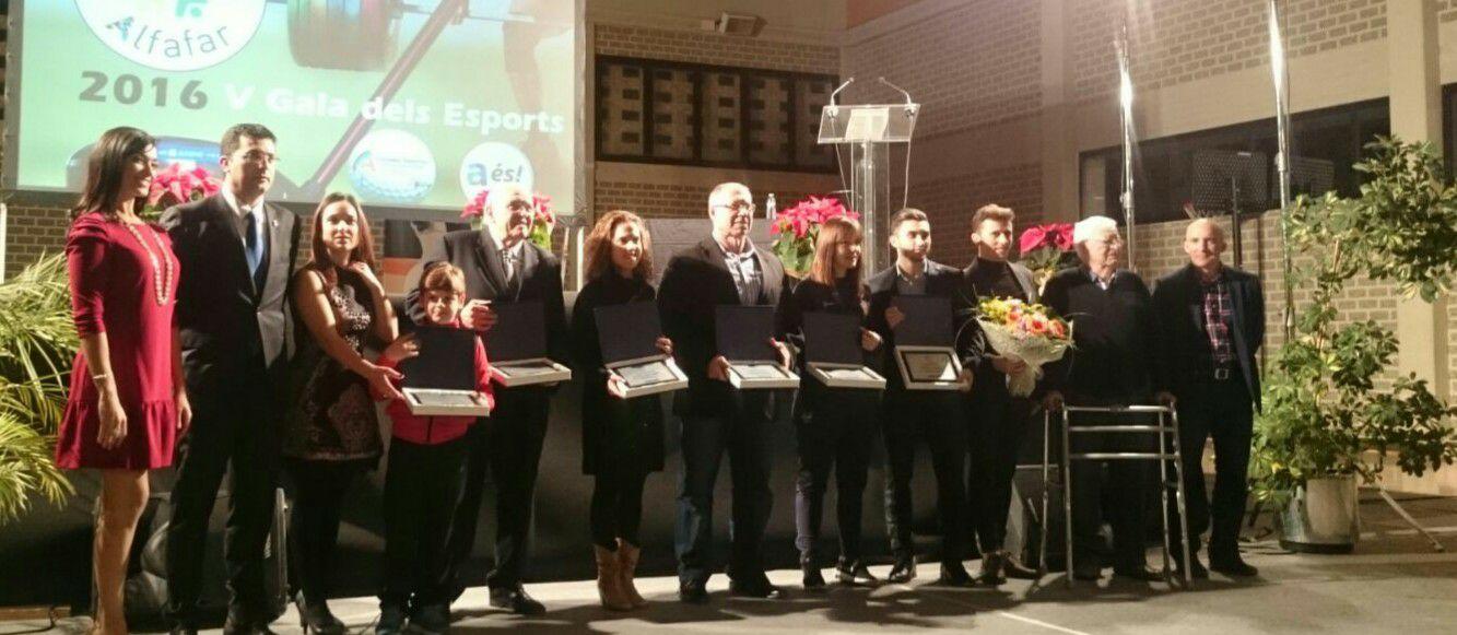 Quinta edición de la Gala de Deportes en Alfafar