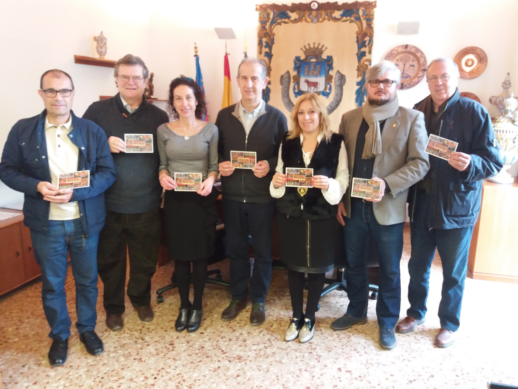 La Societat Musical L'Artística Manisense presenta la seua targeta postal