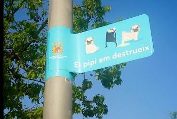'El pipi em destrueix', la nova campanya de l'Ajuntament de Museros