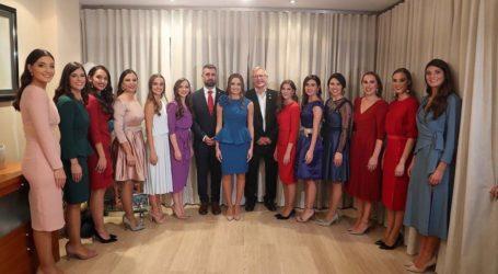 Consuelo Llobell y Carla García, falleras Mayor e Infantil de València 2020