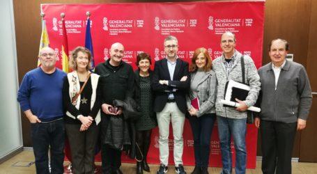 Representants de la Coordinadora per a la Protecció de les Moles es van reunir amb el conseller Arcadi España