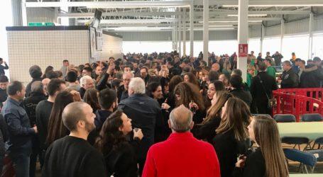 Los Moros y Cristianos de Torrent celebran el Mig Any estrenando el nuevo espacio multiusos de Parc Central