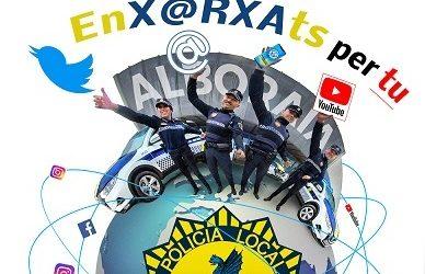 La Policia Local d´Alboraia estrena nova imatge i reforça la seua presència a les xarxes