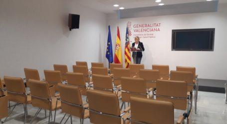 Barceló anuncia 184 nuevos positivos en la Comunitat