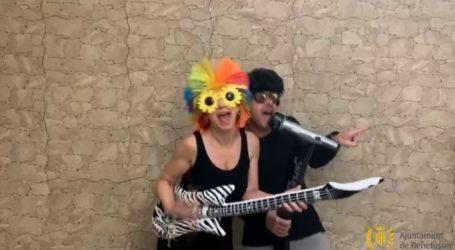 Benetússer levanta el ánimo a ritmo de 'Chiquilla' en un vídeo reto