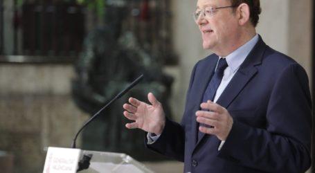 Puig avanza que tomarán medidas en las poblaciones con mayores porcentajes de Covid