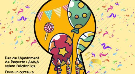 AVIVA Paiporta felicita a les xiquetes i xiquets que compleixen anys durant l'estat d'alarma
