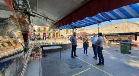 Regresa el Mercado extraordinario de los miércoles en Burjassot con 12 puestos de alimentación y productos de primera necesidad