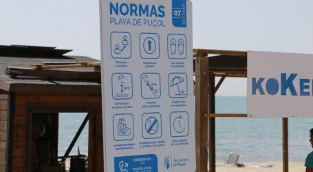 Noves mesures per a gaudir de la platja de Puçol