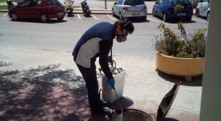 Alboraia refuerza las campañas contra ratas, mosquitos y cucarachas