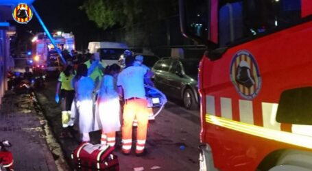 Fallece una mujer y nueve personas resultan heridas en el incendio de un piso en Xirivella