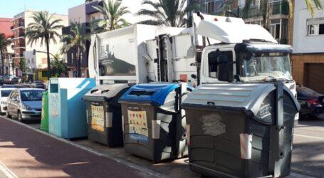 Paterna recicla 1.000t de plástico y cartón en la primera mitad de 2020