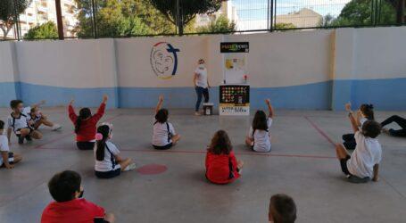 L'alumnat de Catarroja rep formació per a aprendre un correcte ús del reciclatge