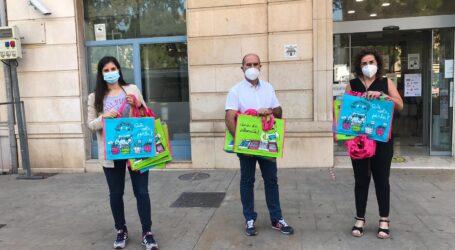 Massamagrell reparteix bosses per la compra reutilitzables a les parades del mercat