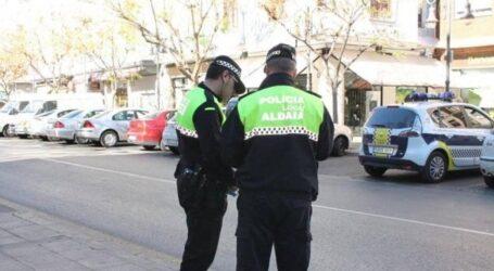 La Policía Local de Aldaia intercepta un encuentro ilegal de 8 personas