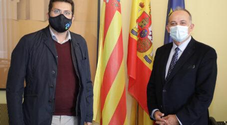 La Generalitat y el Ayuntamiento de Alfafar colaboran en el desarrollo de nuevos proyectos con fondos europeos en la localidad