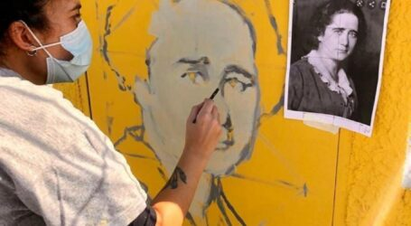 Catarroja dedica un mural a la figura de Clara Campoamor