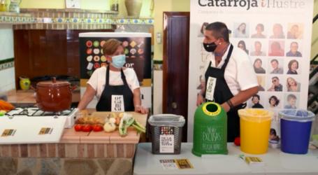 Catarroja consciencia sobre el tractament de residus orgànics mitjançant un taller de cuina online
