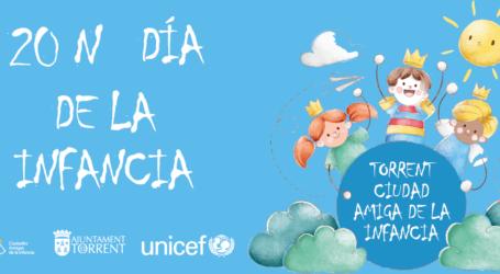 Torrent conmemora el Día Universal de la Infancia con un emotivo vídeo