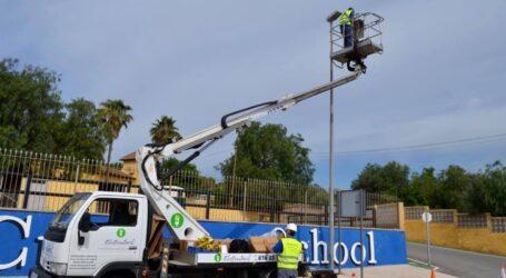 Moncada renova l'enllumenat municipal amb la compra de 800 lluminàries LED