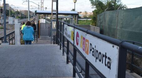 La Generalitat adjudica las obras de construcción de un nuevo paso inferior y la instalación de dos ascensores en la estación de metro de Paiporta