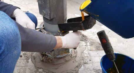 Alaquàs realitza treballs de reparació i protecció en 39 fanals de diverses zones
