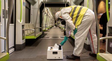 FGV recomienda a las personas usuarias viajar en silencio para disminuir el posible riesgo de contagio