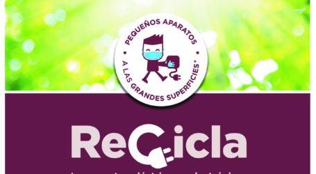 La campaña «Recicla tus aparatos» acerca a Burjassot un punto limpio móvil para reciclar pequeños aparatos eléctricos y electrónicos