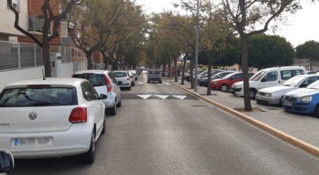 """Paterna instala badenes """"lomos de asno"""" para disminuir la velocidad en diferentes puntos de la ciudad"""
