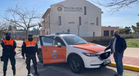 Protección Civil de Massamagrell estrena nuevo vehículo