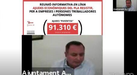 L'Ajuntament d'Albalat dels Sorells es reunix amb empresaris i autònoms per les ajudes del Pla Resistir