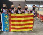 El conjunto del Club de Gimnasia Rítmica Alboraya se proclaman campeonas de España