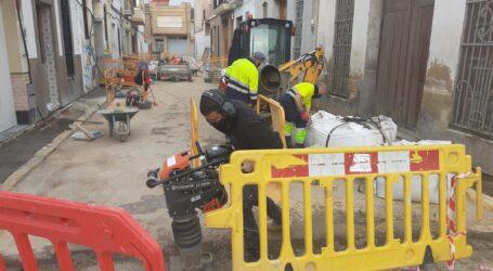 Massanassa renueva la red de agua potable y aceras de la Calle  FedericoGarcía Lorca