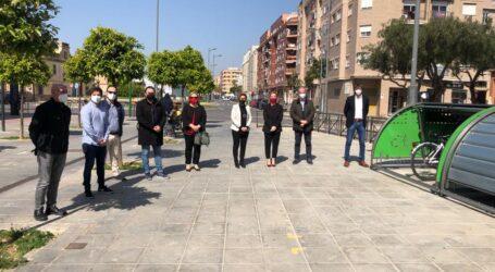 Nou sistema d'aparcament segur de bicicletes en Manises