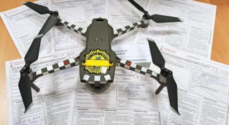 Fènix 1, el dron policial que irrumpe en las fiestas privadas de Alboraya