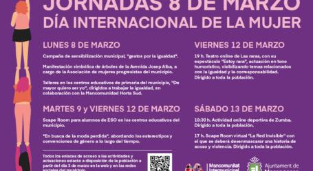 Actividades virtuales para conmemorar el 8 M en Massanassa