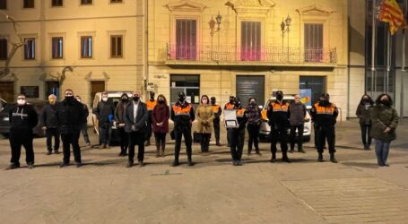 Massamagrell rinde homenaje a los voluntarios de Protección Civil