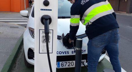 Sedaví posa en funcionament un punt de recàrrega semi-ràpid per a vehicles elèctrics