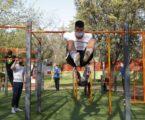 En auge el 'street workout' en Mislata