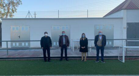 Museros dota de cuatro almacenes al polideportivo municipal