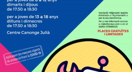 Robótica o surf, las nuevas y gratuitas actividades para los jóvenes de Alboraya